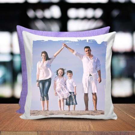 Cuscino bicolore - Fine Art